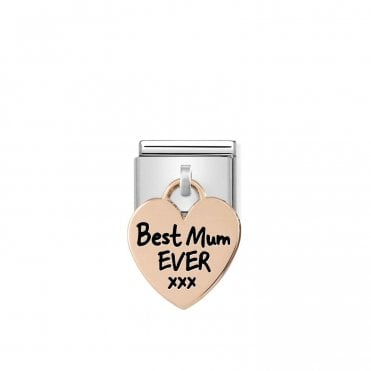 Rose Gold (Best Mum Ever) Friends & Family Charms