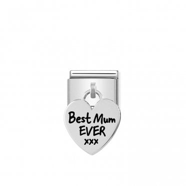 Silver (Best Mum Ever) Friends & Family Charms