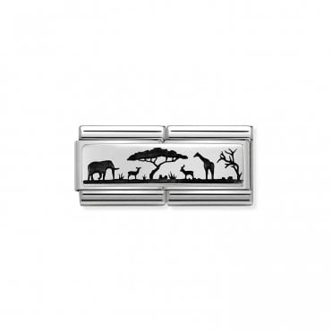 Silver (Double Skyline Savana) Travel Charms