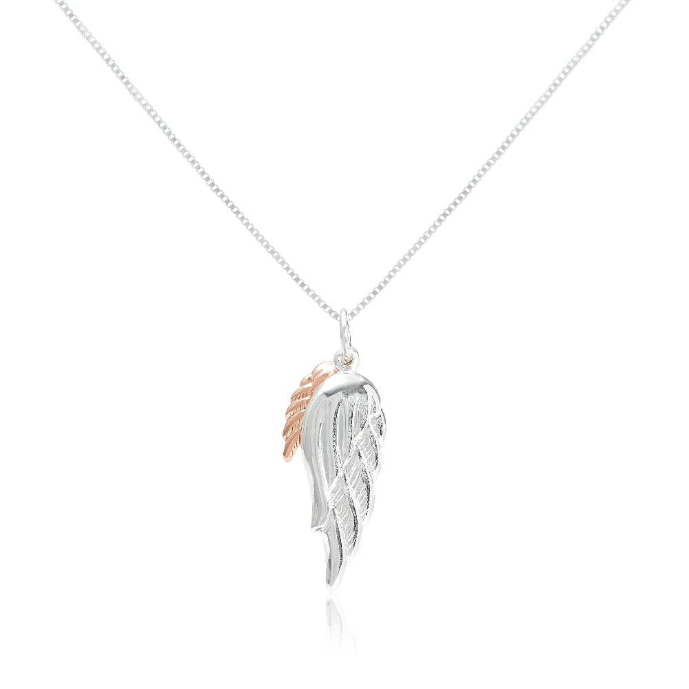 personalized angel jcpenney pendant wing necklace p