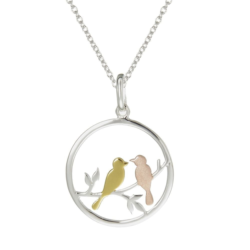 pendant love noyasilverjewelry bird birds necklace by still lovebirds heart htm necklaces