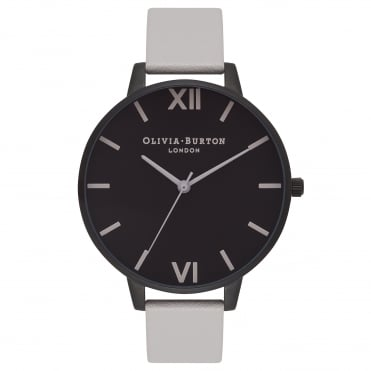After Dark Matte Black & Light Grey Watch
