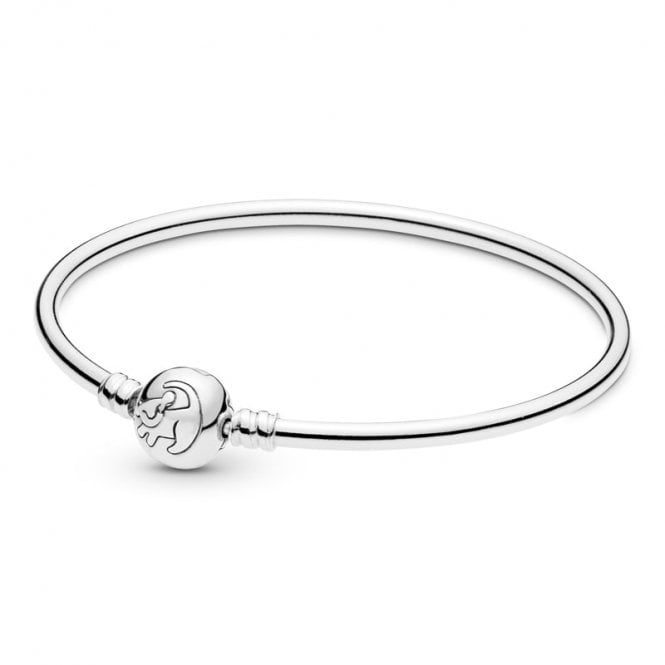 PANDORA Disney Moments Lion King Simba Clasp Bangle 21CM