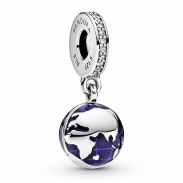 For UNICEF Blue Planet Dangle Charm