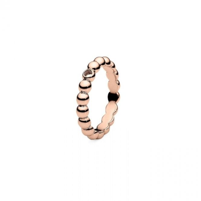 Qudo Slim Rose Gold Veroli Interchangeable Ring Size 54
