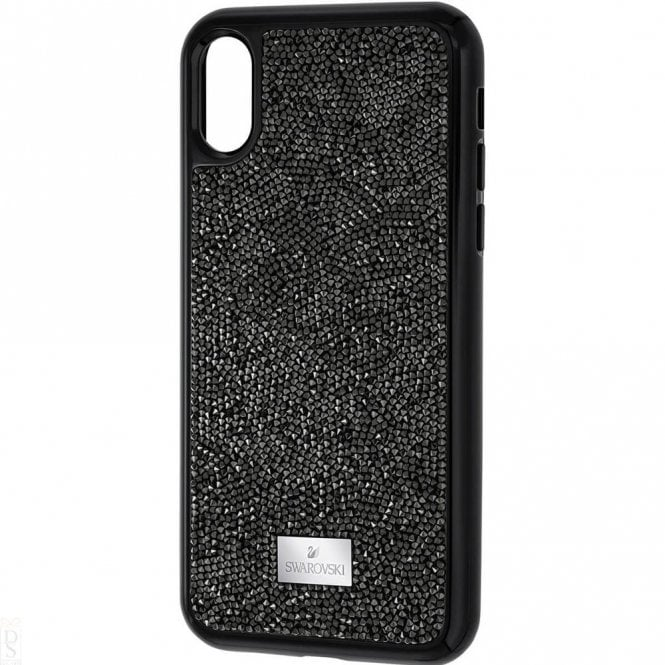 Swarovski Glam Rock Black Smartphone Case with integrated Bumper for iPhone® X/XS