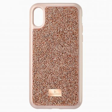 Glam Rock Pink Gold Smartphone Case with integrated Bumper for iPhone® X/XS