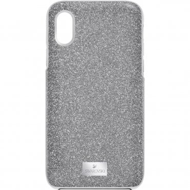 iPhone® X/XS High Phone Case with Bumper in Grey