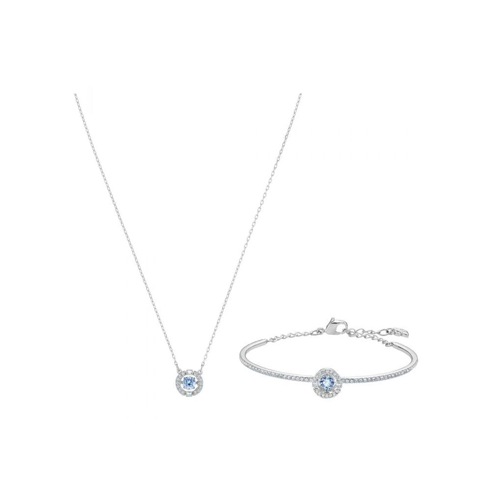 Crystal Necklace and Bracelet Sets