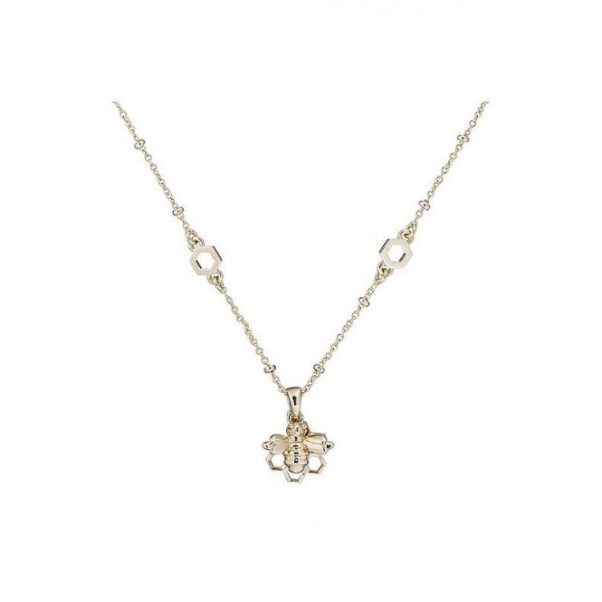 Ted Baker Bediina Yellow Gold Bumble Bee Chain Necklace