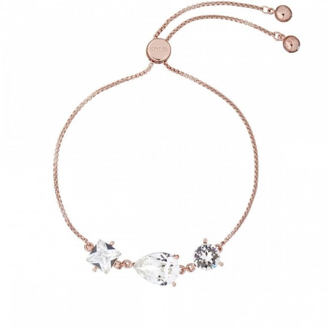Ted Baker Callab Rose Gold and Crystal Candy Bracelet