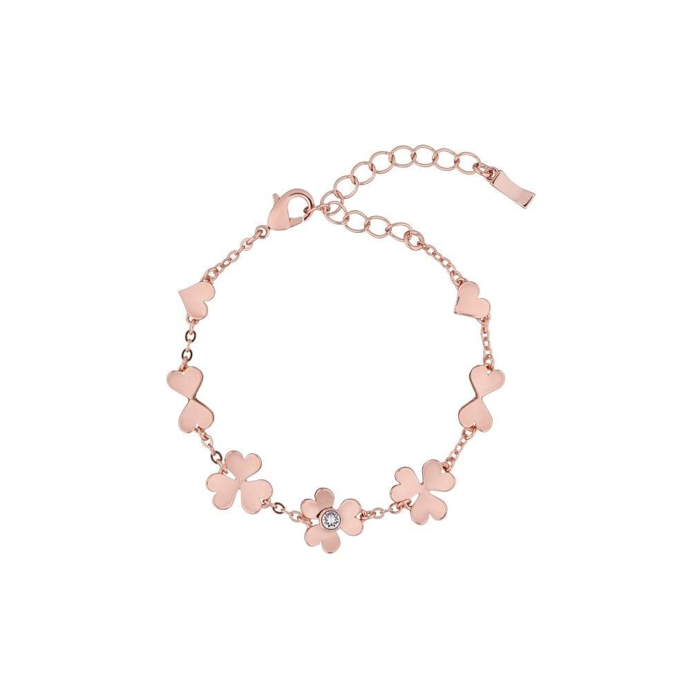 new list shoes for cheap nice cheap TED BAKER Hadaya Heart Blossom Rose Gold Bracelet