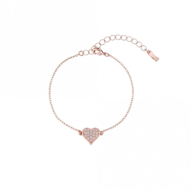 Ted Baker Hisna Rose Gold Hidden Heart Bracelet