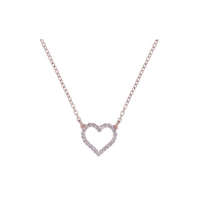Ted Baker Lendra Rose Gold Entwined Love Heart Necklace