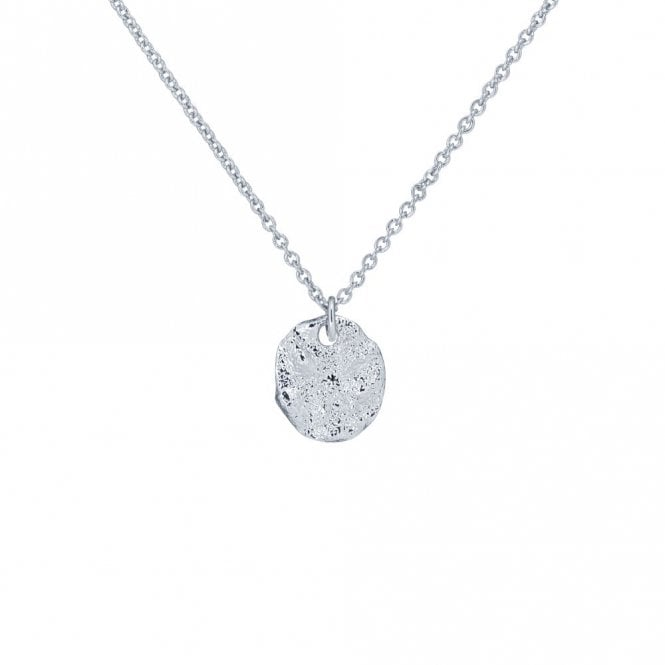 Ted Baker Mesra Silver Moonrock Pendant Necklace