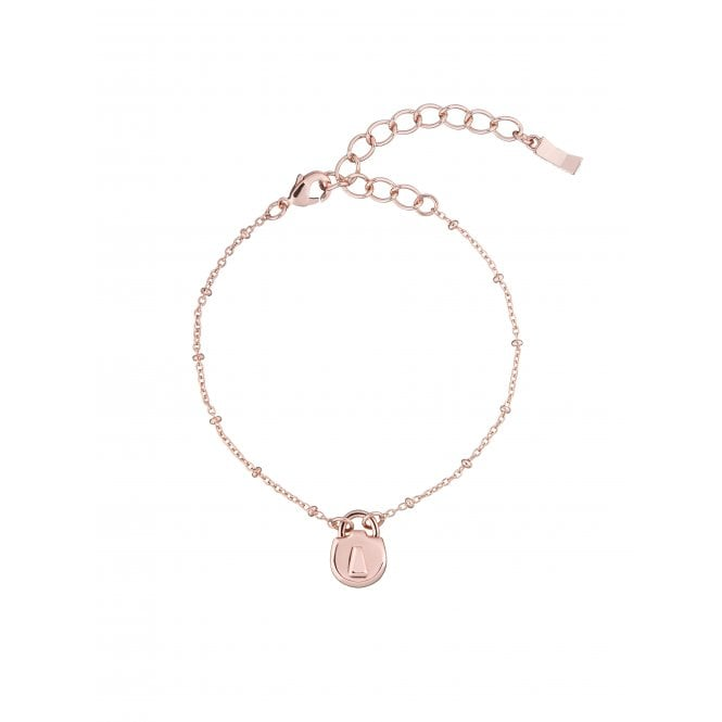 Ted Baker Padena Rose Gold Mini Padlock Bracelet