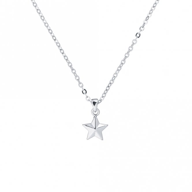 Ted Baker Shona Silver Shooting Star Pendant Necklace