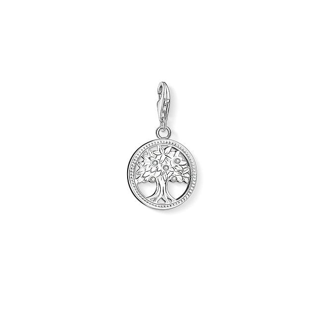 Thomas Sabo Charm Club Tree of Life Silver and CZ Charm