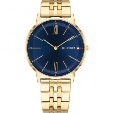 Cooper Blue and Gold Bracelet Watch