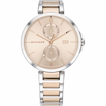 Rose Gold and Steel Two Tone Ladies Angela Watch