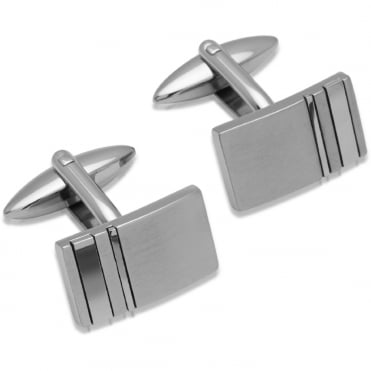 Mother Of Pearl & Onyx Detailed Cufflinks - QC-137