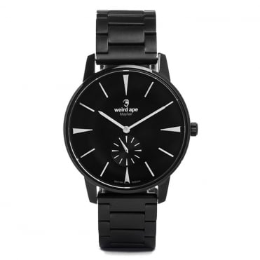 Mayfair Black White & Black Link Watch